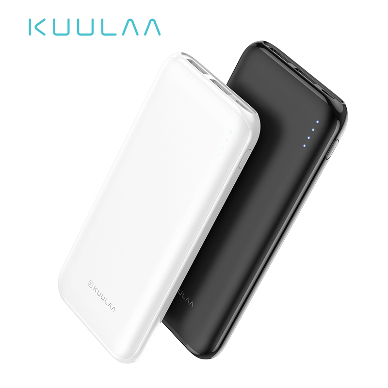 KUULAA Power Bank 10000 mAh Portable Charging Powerbank 10000mAh Poverbank USB External Battery Charger For Xiaomi Mi 9 8 iPhone