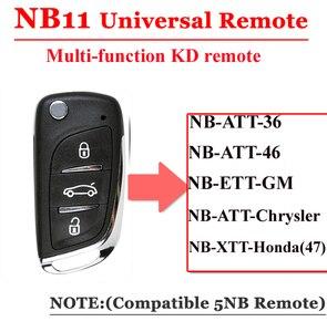 Image 2 - Discouted (5ชิ้น/ล็อต) KD900กุญแจรีโมทสากลNB11 DSกุญแจรีโมทสำหรับkeydiy KD900 KD900 + URG200มินิKDการควบคุมระยะไกล