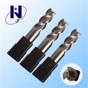 D12*35*D12*75*3T Solid Carbide, 3 Flutes, Aluminium, Metric, 45HRC, Overall Length 75mm, ALN-JF3F