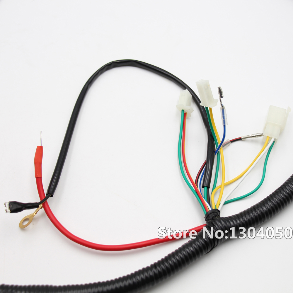 Engine Wire Loom Wiring Harness Wireloom Gy6 125cc 150cc 200cc Scooter Dirt Quad Bike Atv Buggy Atmoik Go Kart In Motorbike Ingition From Automobiles