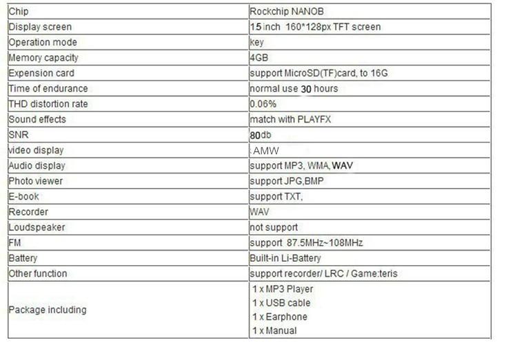 RUIZU X09 MINI MP3 Player Running Sports Clip Mp3 Walkman Support TF Card Music Player With 1.5 inch Screen E-Book Recording FM (9)