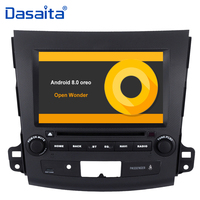 8 HD Digital Touch Screen Android 9.0 Bluetooth GPS Navigator Double Din Car DVD Player for Mitsubishi Outlander 2007