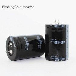 20PCS--2PCS จัดส่งฟรี 680 UF 400 V 400 V 680 UF 400V680UF Electrolytic Capacitor 35x50 มม. คุณภาพที่ดีที่สุด