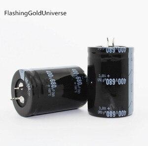 Image 1 - 20PCS  2PCS 680 uf 400 v 400V680UF 電解コンデンサ 35x50 ミリメートル最高品質