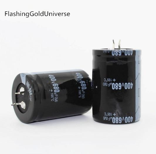 20PCS  2PCS 680 uf 400 v 400V680UF 電解コンデンサ 35x50 ミリメートル最高品質