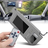 7 inch Sun visor TFT LCD monitor Display interior mirror Visor Monitor Rear Camera Resolution Left/Right for Car Rearview Camera