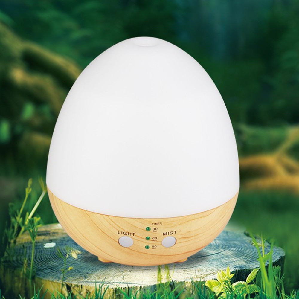 Usb Wood Grain Aroma Essential Oil Diffuser Cool Ultrasonic Mist Humidifier for Home Office Bedroom Living Room Study Yoga Spa цена и фото