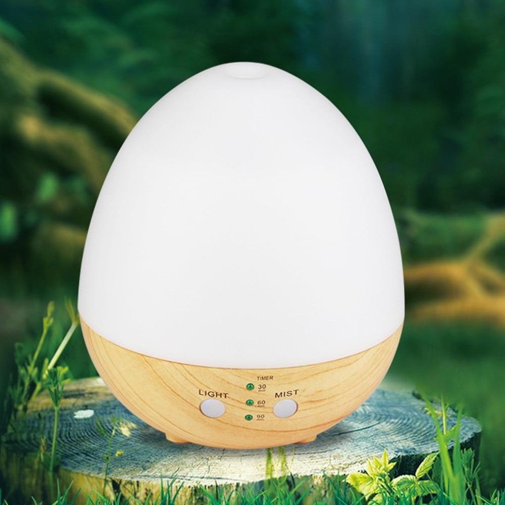 все цены на Usb Wood Grain Aroma Essential Oil Diffuser Cool Ultrasonic Mist Humidifier for Home Office Bedroom Living Room Study Yoga Spa онлайн