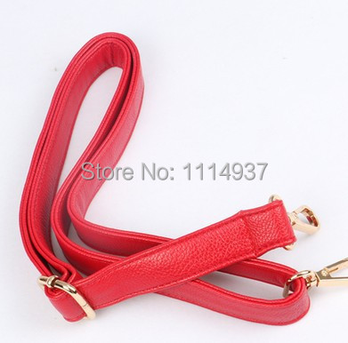 Rose PU womens handbag taping tape shoulder strap suspenders school bag belt cross-body ar3