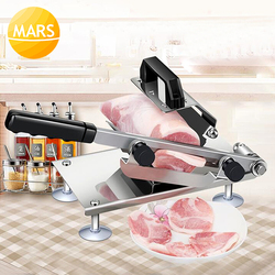 Household Manual Meat Block Slicing Machine Meat Cutter Stainless Steel Mutton/Beef/Meat Slicer in Electric Meat Grinders