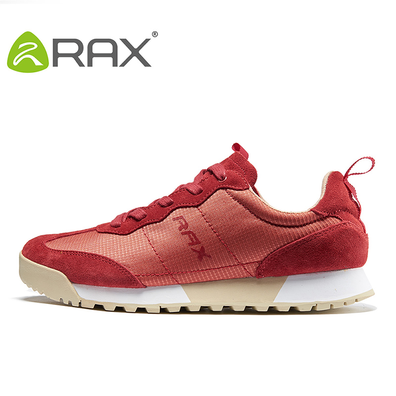 Rax Menn Kvinner Running Shoes Outdoor Sports Shoes Menn Atletisk Sko Pustende Sneakers Rask Turgåing Jogging Sko 60-5c350