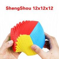 ShengShou 12x12x12 Magic Cube Professional Competition 12x12 Speed Cube Rubikeds Puzzle Fidget Toys