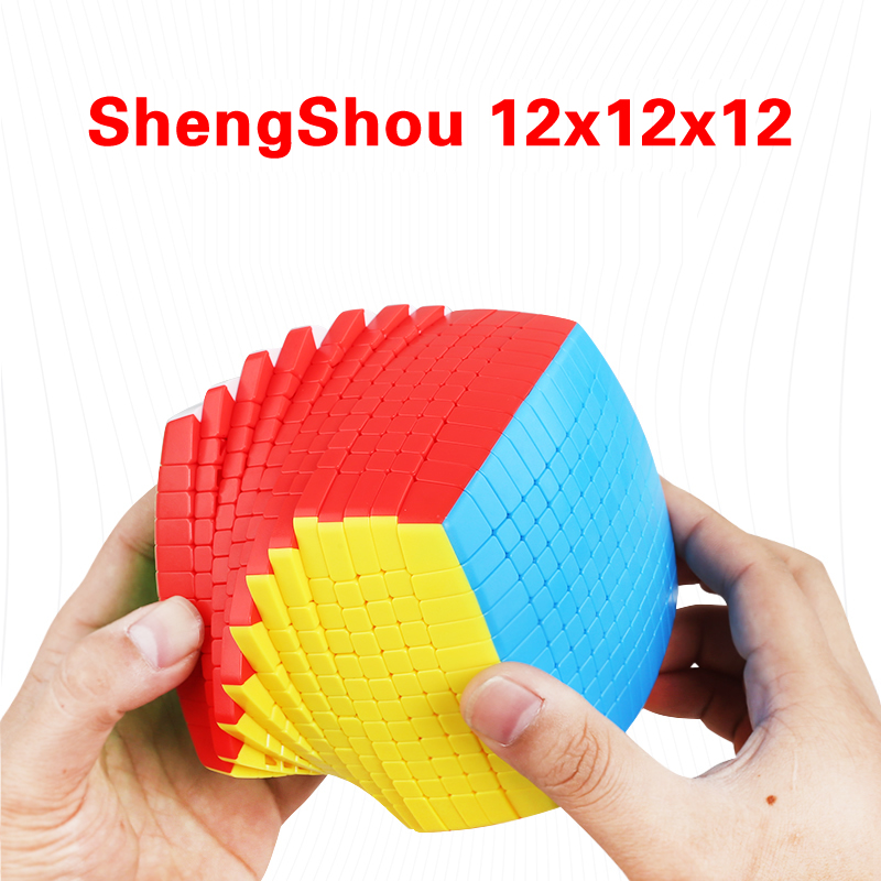 ShengShou 12x12x12 Cube magique concours professionnel 12x12 vitesse Cube Rubikeds Puzzle Fidget jouets