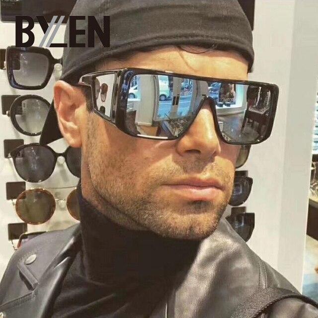 29f6648a49 Oversized Rectangle Sunglasses Men Vintage Brand Designer Women Sunglass  Retro Square Big Frame Black Sun Glasses Man Shades
