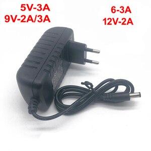 Image 2 - 1 個 100 240 V AC Dc 電源アダプタ充電器 3 V 4.5 V 5 V 6 12V 7.5 V 9 V 12 V 0.5A 1A 2A 3A EU 米国のプラグ 5.5 ミリメートル x 2.1 ミリメートル