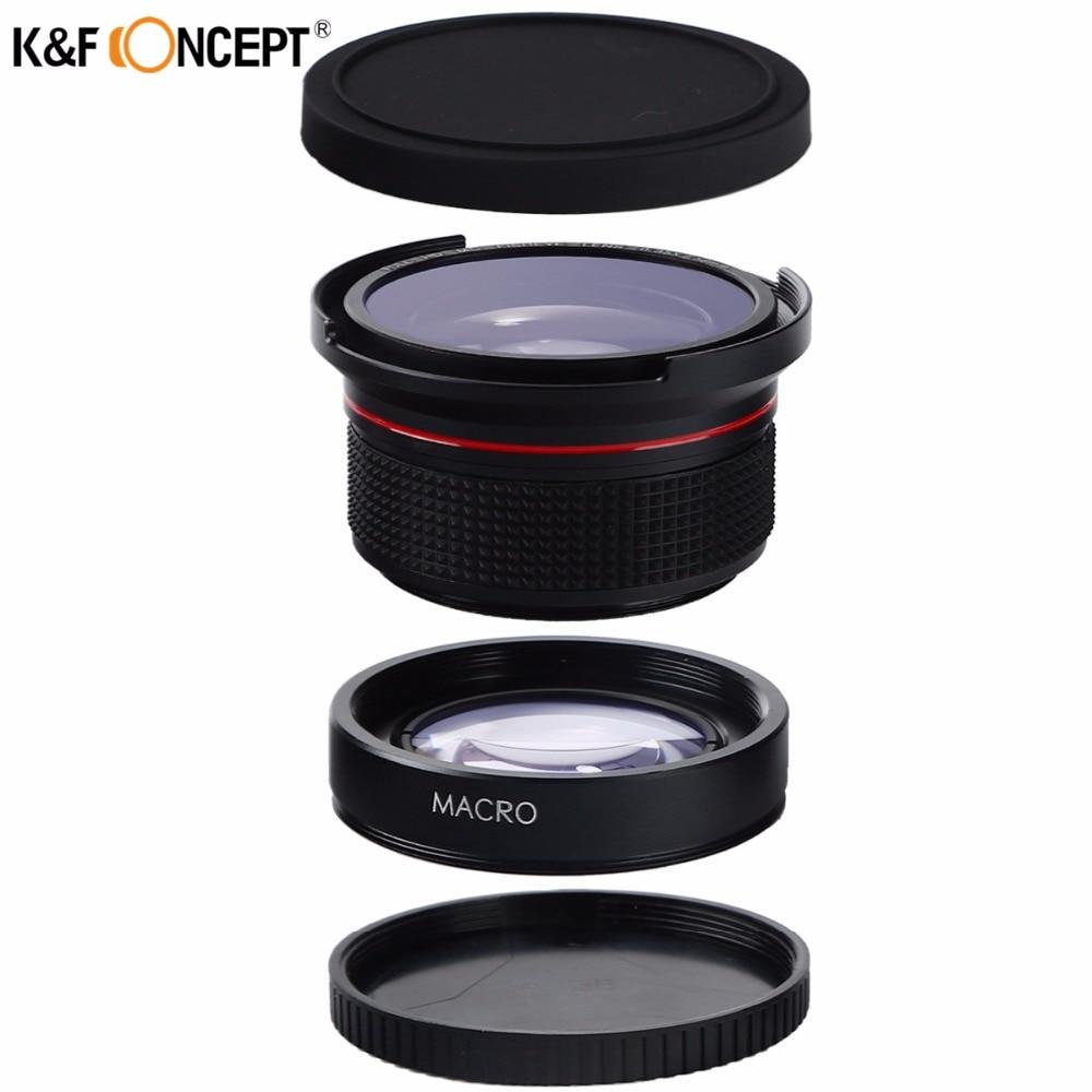 K&F CONCEPT 2in1 58mm 0.35x Fisheye լայն անկյուն - Տեսախցիկ և լուսանկար - Լուսանկար 2