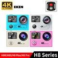 EK EN H8R Original & PRO & H8 H8S & H8 plus series 4 K 1080 P Ação wi-fi Esporte câmera Cam Dual Screen Pro Sj cam com controle remoto
