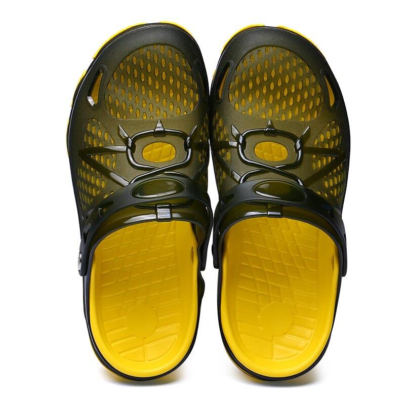 2018 обувь Для мужчин Обувь с дышащей сеткой пляжная обувь летние пляжные oudoor сандалии для Для мужчин прогулочная обувь кроссовки zapatos C4