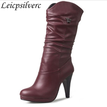 new autumn and winter womens boots in hi