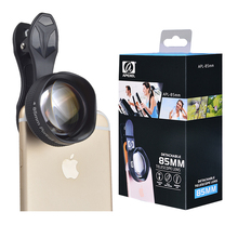 Big sale APEXEL camera Lens kit Universal 85MM telescope Clip-on Cell Phone Lenses for apple iPhone Xiaomi Samsung galaxy HTC smartphone