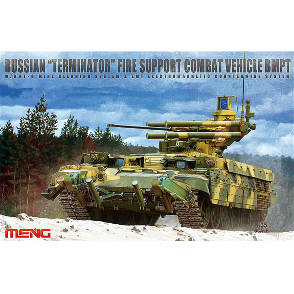 OHS Meng TS010 1/35 Russian Terminator Fire Support Combat Vehicle BMPT Military AFV Model Building Kits unipump jet 100 l