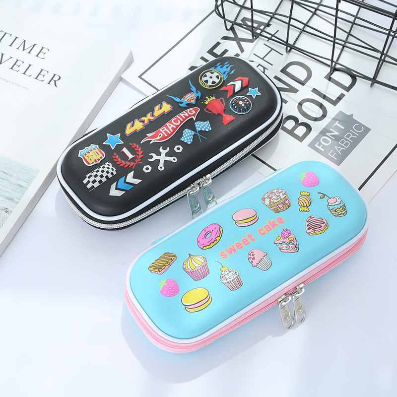Pencil Case Big Capacity EVA waterproof Multifunction Pen Bag Box Pencilcase School Office Supplies Stationery For Girl Boy Gift 2017 korean large capacity cute pencil case golden simple stationery pens holder bag for girl boy school office supplies gift