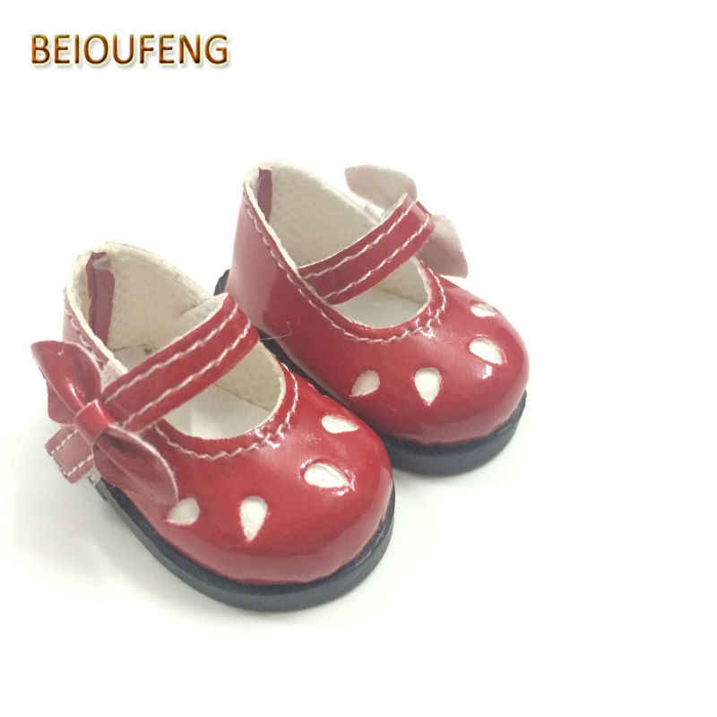 5cm Doll Shoes Canvas Mini Toy Shoes1//6 For Russian Doll Sneackers rf