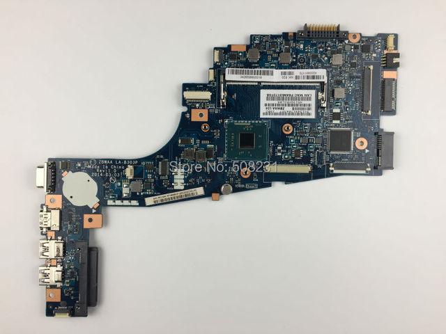 Envío libre, k000891170 la-b303p para toshiba satellite c50t c55t c50t-b c55 series placa base, todas las funciones son totalmente Probado!
