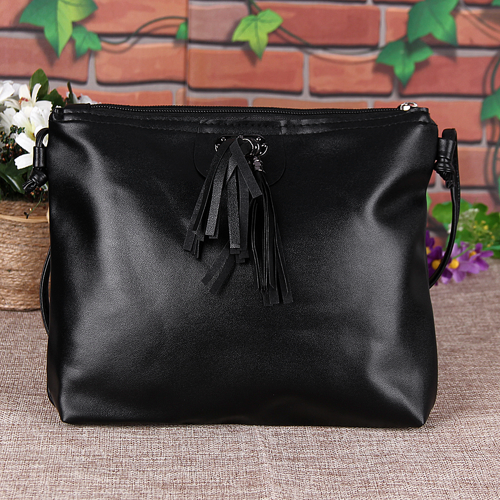 Fashion Shoulder Crossbody Bag Small PU Tassel Women Bag Women Messenger Bags Women Leather Handbag Mini Tassel Flap Bag Bolsa