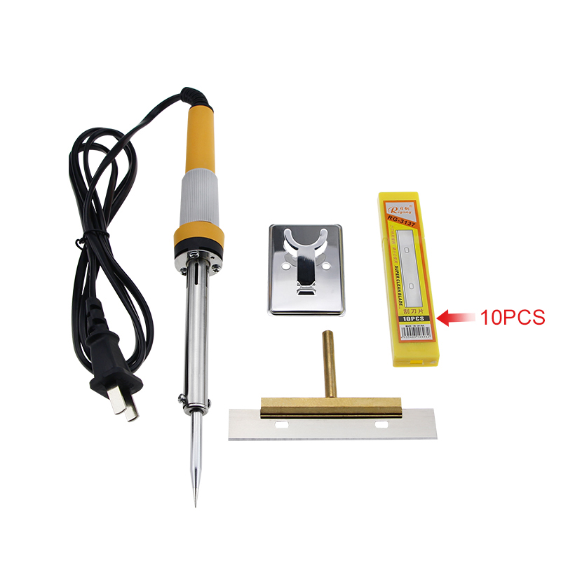 Soldering Iron 60W Electric Welding Solder iron station 220/100V with Glue Clean Tool T Solder Iron Tip with 100mm Blade lodestar l952 t k solder tip