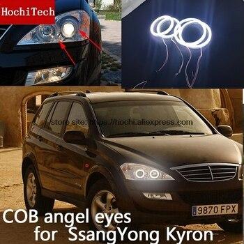 双竜 Kyron 2007 2008 2009 2010 COB Led デイライト · Cob Led エンジェル · アイズリングエラーフリー超高輝度