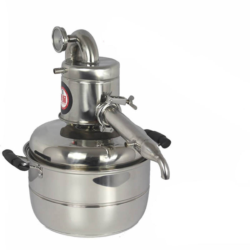 10L Water/Alcohol Distiller Small Household Brew Kit Still Wine Making Brewing Machine Distillation Equipment цена