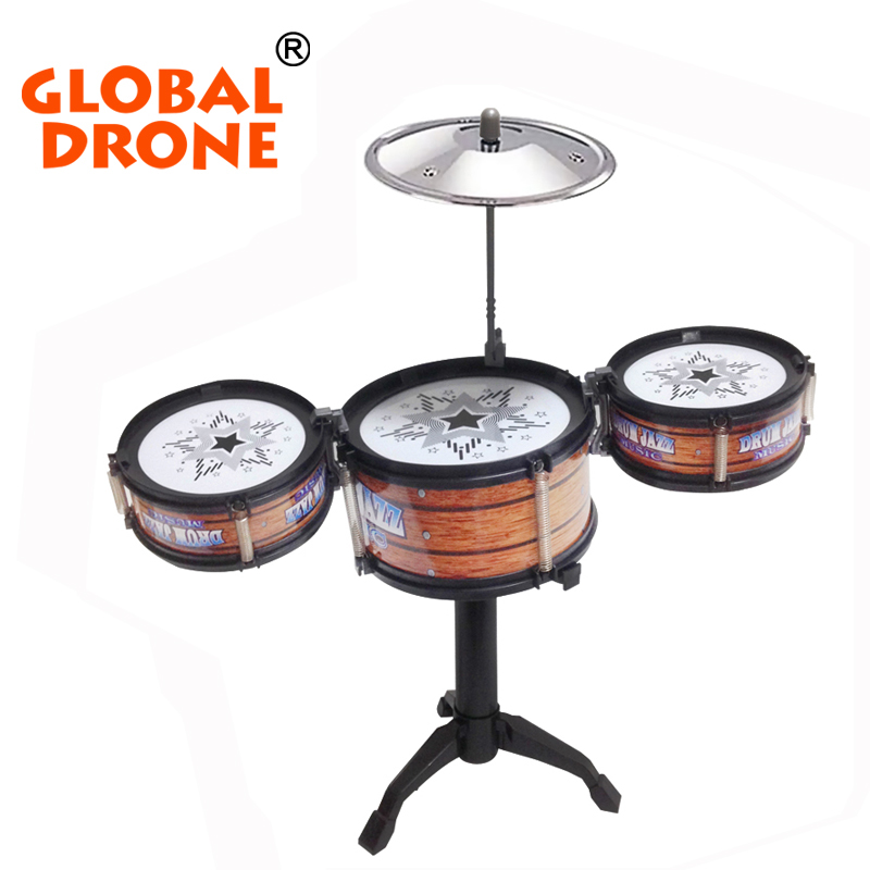 GLOBAL-DRONE-Children-Jazz-Drum-Toy-Cymbal-Sticks-Rock-Set-Musical-Hand-drum-Kids-diy-funny-Drums-Gift-Toy-1