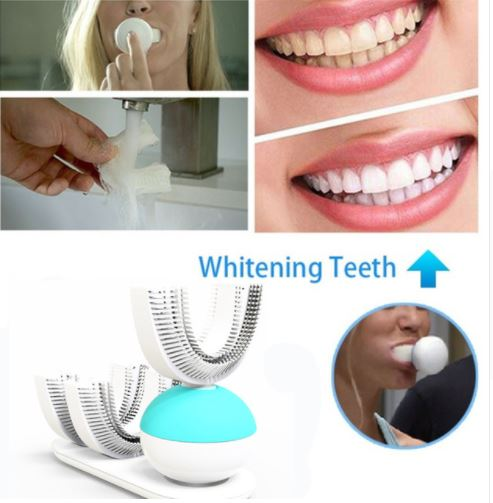 Automatic Electric Toothbrush Brush Amabrush Hygiene Oral Dental Care In 15 Second Wireless Charging Head Teeth Whiting 2017 teeth whitening oral irrigator electric teeth cleaning machine irrigador dental water flosser professional teeth care tools