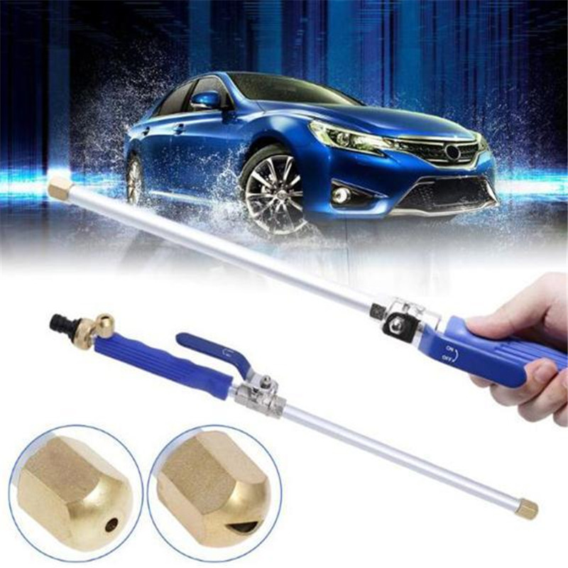 Water Jet Pro Cleaning Tool High Pressure Water Gun Metal Water Gun High Pressure Power Car Washer Spray Car Washing Tools Garde(China)