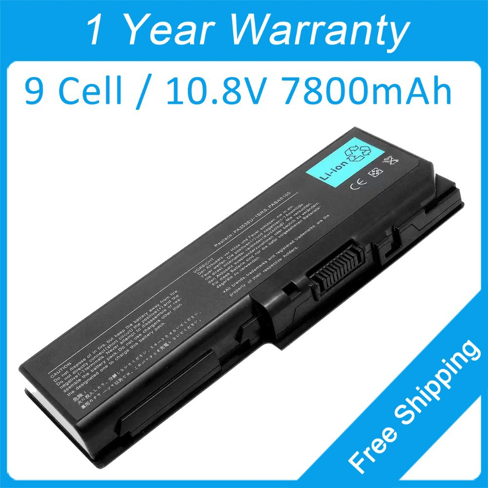 New 9 cell 7800mah laptop battery for toshiba Satellite Pro P300 P200 L350 PA3537U-1BRS PA3536U-1BRS PABAS101 PABAS100 new us keyboard black for toshiba satellite a500 a505 p200 p300 p505 l500 l505 l535 l550 l350 x505 x500 f501 laptop us keyboard