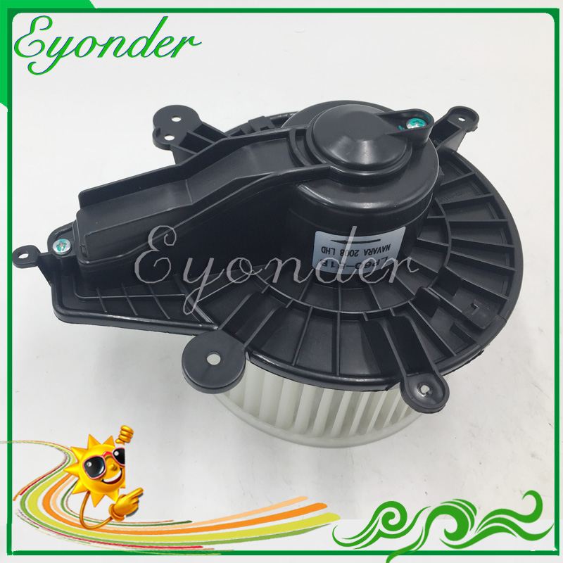 A C AC air conditioning Electronic Heater Fan Blower Motor Assembly for Nissan Navara II pickup