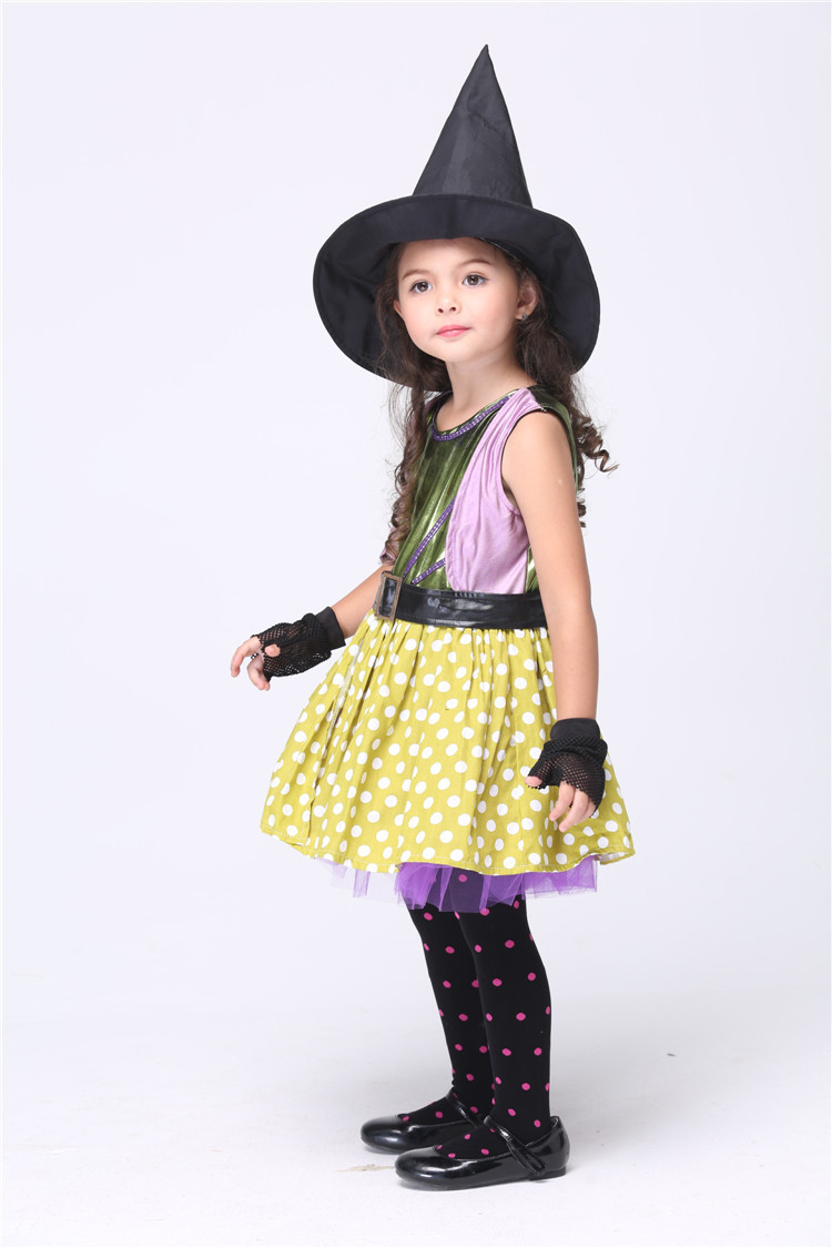 2017 Witch Halloween Costume For Kids Cosplay Miraculous Disfraz ...