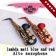 Hot selling France Henri Selmer 54 saxophone alto Musical Instruments saxofone gold professional sax & Hard boxs