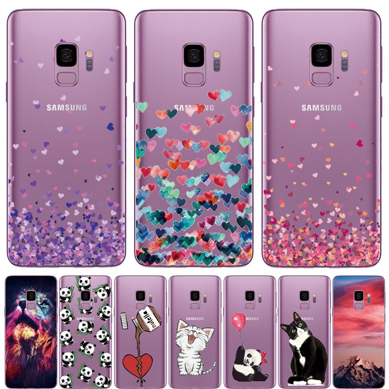 Love animal Phone <font><b>Case</b></font> For <font><b>Samsung</b></font> <font><b>Galaxy</b></font> S6 S7 Edge <font><b>Cat</b></font> <font><b>Case</b></font> For <font><b>Samsung</b></font> <font><b>Galaxy</b></font> J2 J5 Prime J3 A3 A5 <font><b>A8</b></font> 2016 2017 <font><b>2018</b></font> Capa image