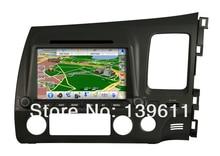 ZESTECH 2 Din Car DVD Player w/ ATV GPS WiFi Bluetooth Radio for Honda Civic (Left Hand)
