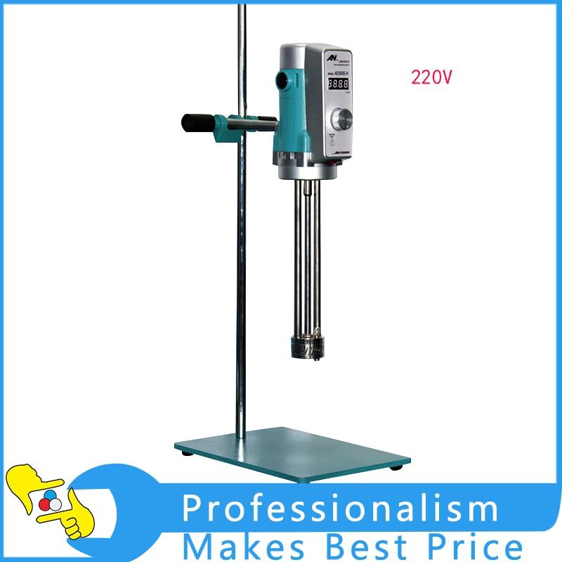 Digital Display AE300L-H Lab Emulsifier High Speed Emulsifying Machine 220V digital shear emulsification lab mixer lr 10 mixer disperser emulsifying machine 10kg capacity 220v or 110v