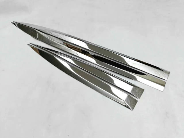 For Peugeot 3008&4008 2017-2018 Car styling stainless steel Side Door Body trim sticks Accessorie Car Sequin 4pcs