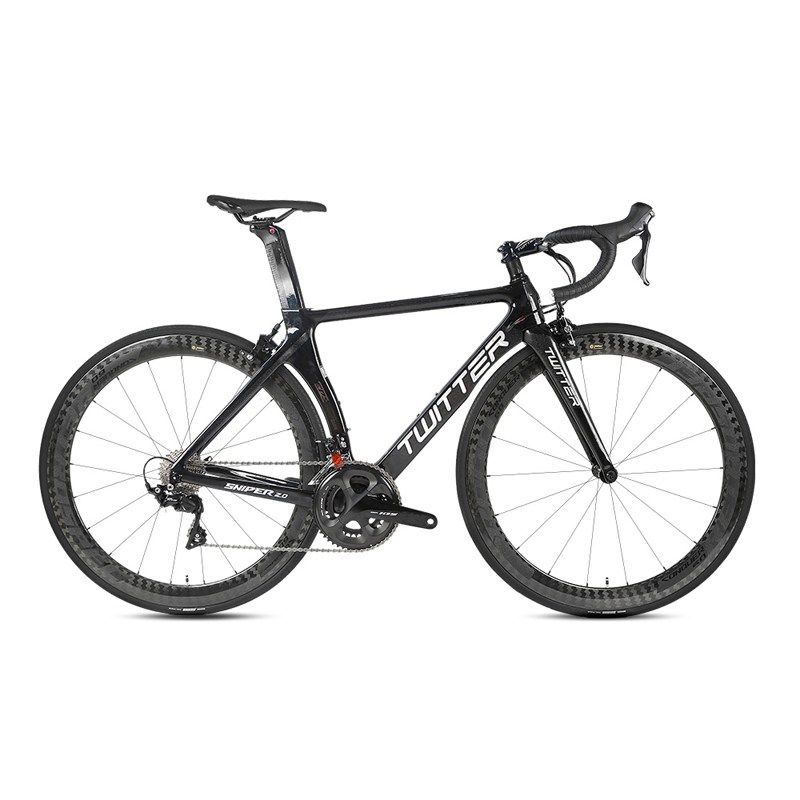 TWITTER Full Carbon 22 Speed Road Bicycle Bike Carbon Wheel All 105/R7000 22 Speed Transmission System