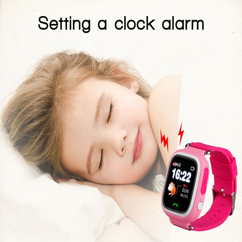 New products 2018 gps tracking kids smart watch kid watch mobile phone