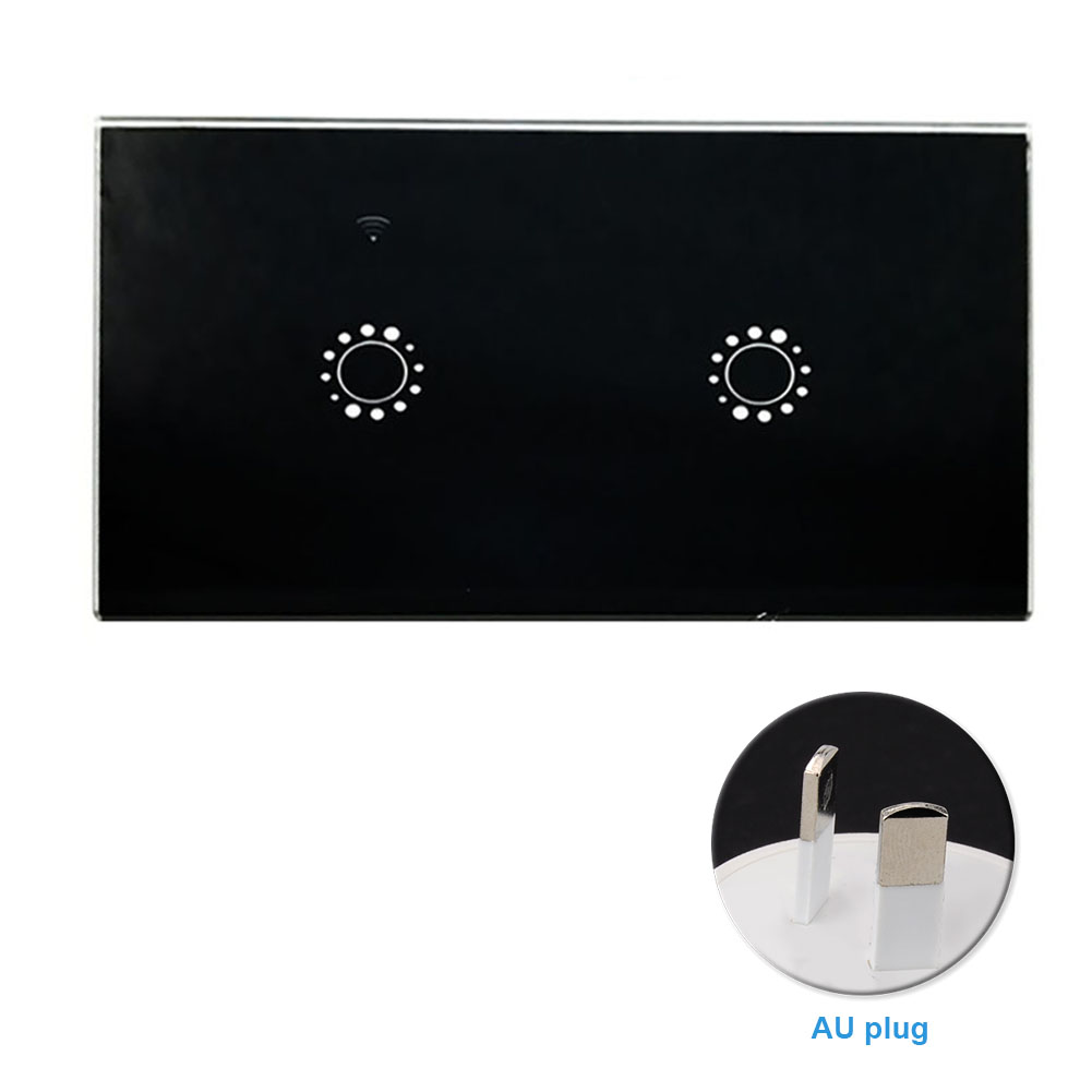 Bedroom Replacement WIFI Smart Wireless Wall Light Accessories Universal APP Remote Timing Switch Panel Voice Control Home ABS Islamabad