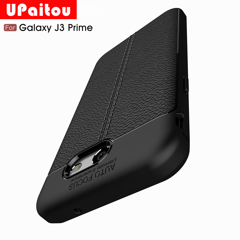 UPaitou Dermatoglyph Soft TPU Case for For Samsung Galaxy J3 Prime/J3 Emerge/J3 Eclipse/Express Prime 2/Amp Prime 2 US J327 Case