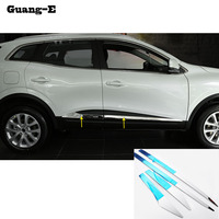 Car Cover Panel Bumper Engine ABS Chrome Trims Front Bottom Grid Grill Grille Around Edge 1pcs