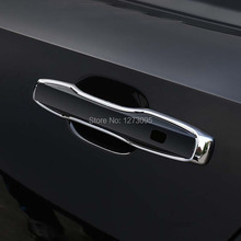For Volvo XC60 XC90 S90 2018 ABS Chrome Car Door Handle Cover Trim Side Door Handle Cover Sticker Exterior Car Styling Accessory