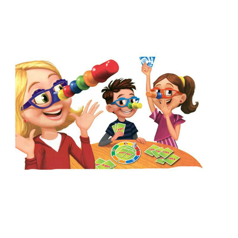 Liar Fibber Game Hilarious Noses Glasses Stretch The Truth And Your Nose May Grow Great Family Fun Toys
